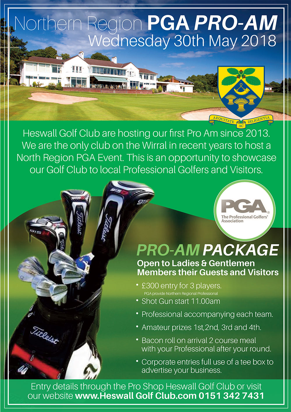 Pro-AM 30th May 2018