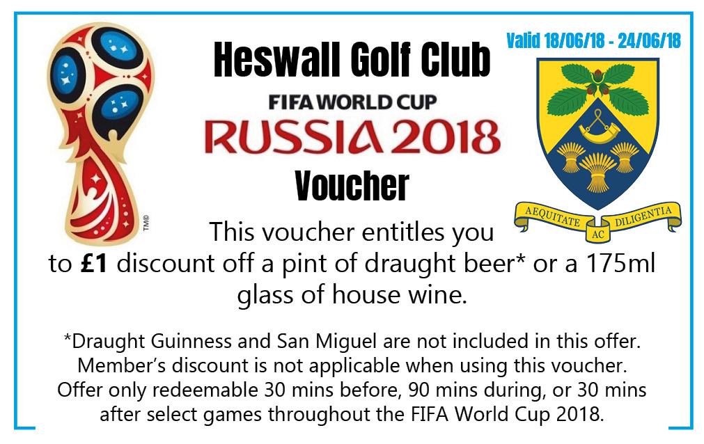 World Cup Vouchers