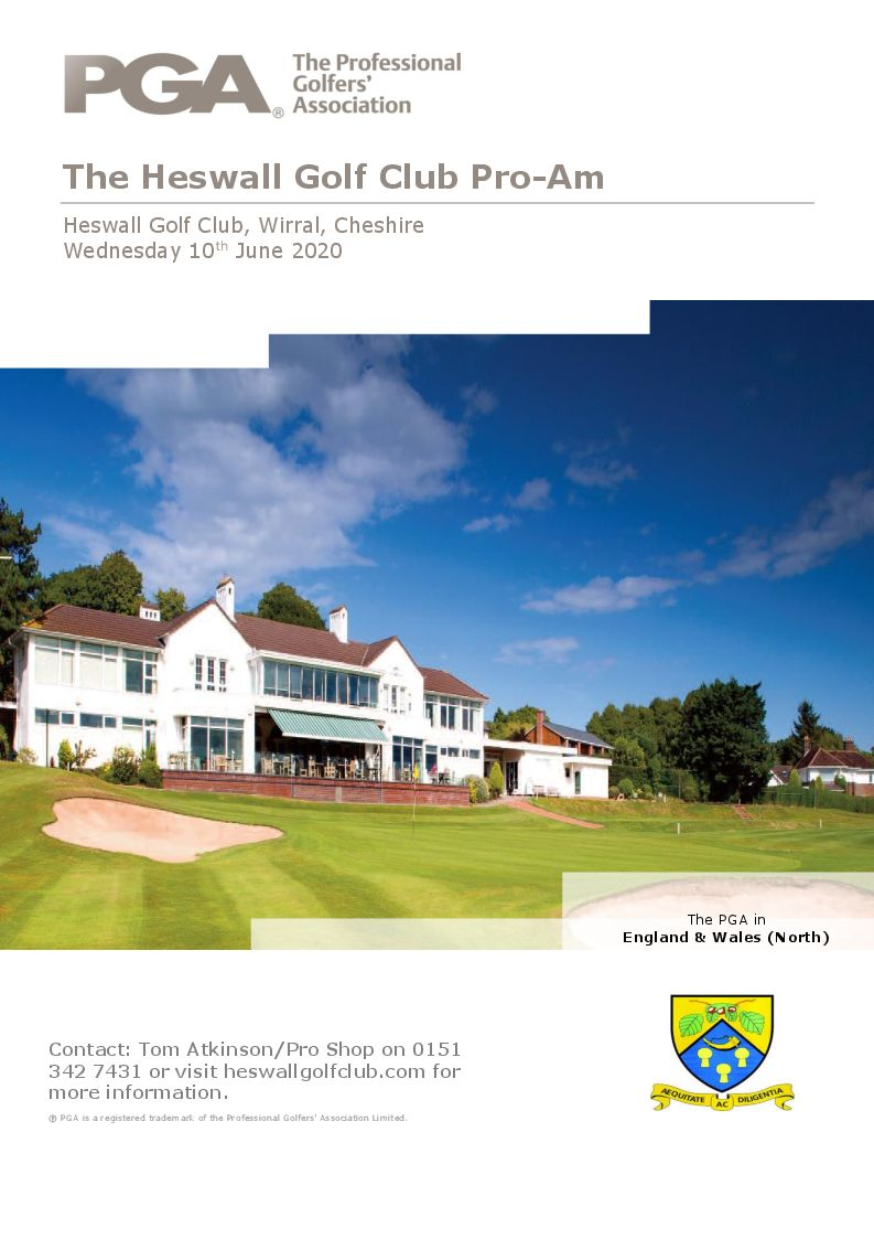 Pro-AM Wednesday 10th June 2020