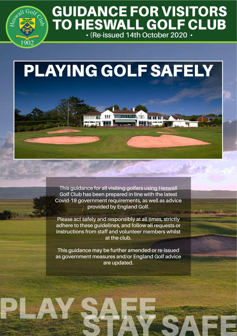 Play Safe Stay Safe Updated 14th October 2020
