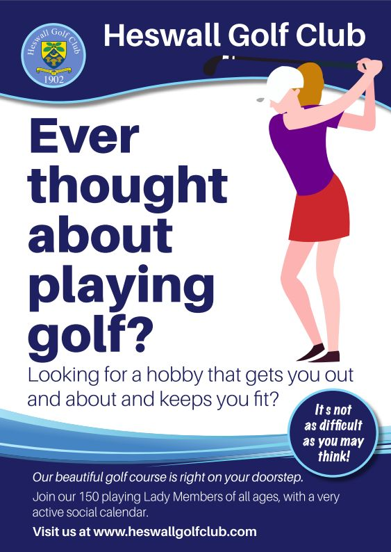 Join Our Club – Ladies Get into Golf Package